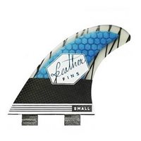 QUILLA FEATHER FINS CARBONO
