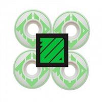 RUEDAS MUD 53mm 101A WHITE / GREEN