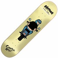 Almost Skateboards x Jean Jullien Cooper Wilt Skateboard Deck 8.0