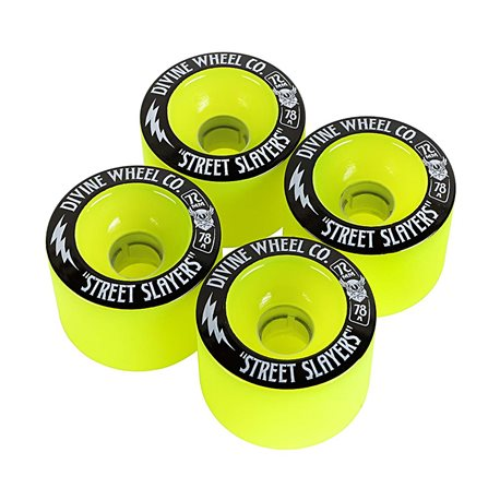 Divine Street Slayers 72mm 78a GREEN