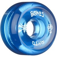 RUEDAS BONES SKATEPARK CLEAR BLUE 58MM