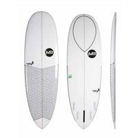 TABLA SURF MANUAL DARK CRAB EPOXY CLEAR RESIN